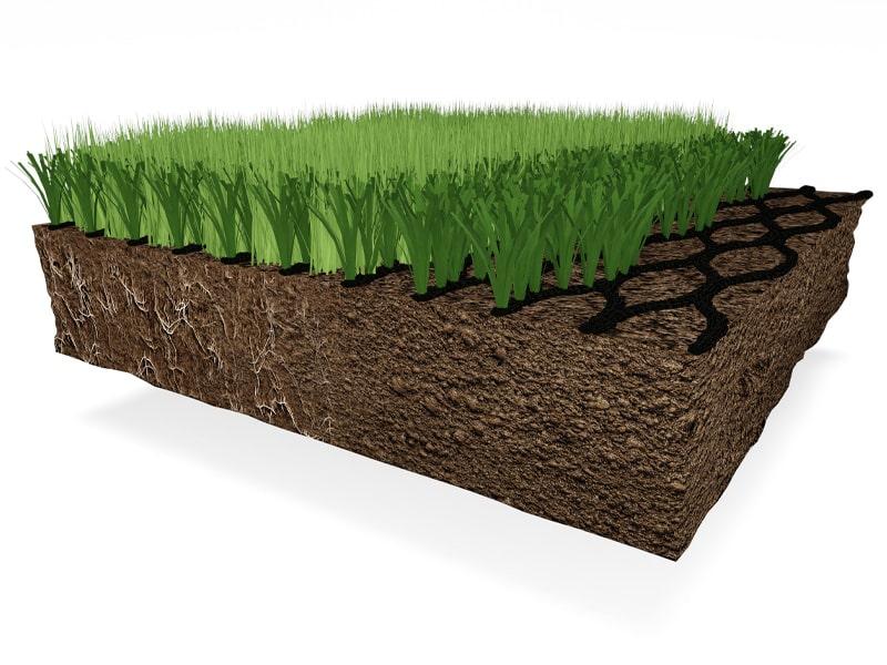 Hybridgræs Konstruktion Nordic Lawn